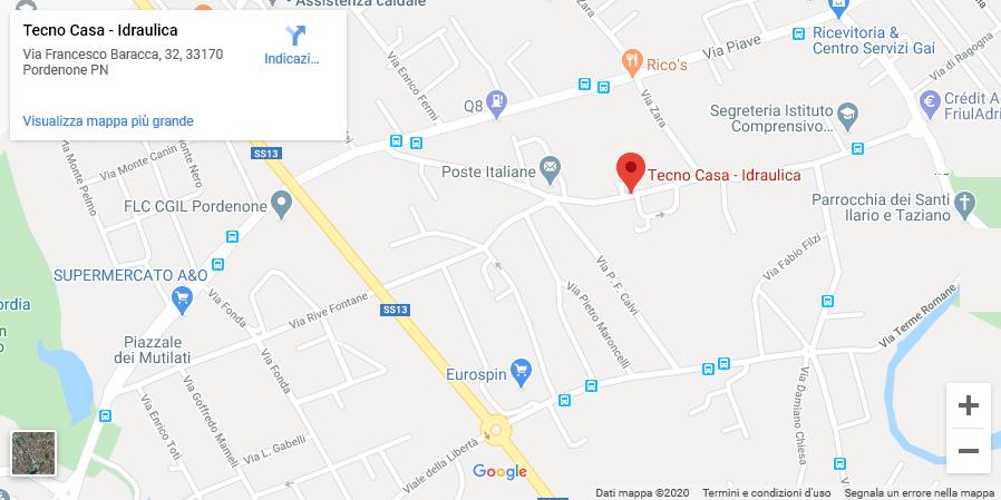 mappa posizione negozio